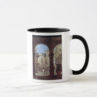 Architectural Capriccio, c.1770 Mug