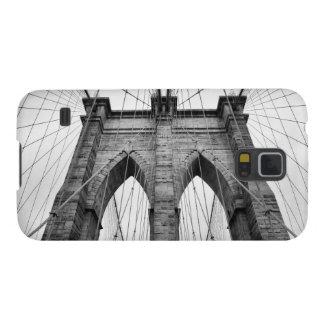 Architectural Closeup Of Brooklyn Bridge Galaxy S5 Case