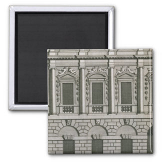 Architectural design demonstrating Palladian propo Magnet