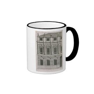 Architectural design demonstrating Palladian propo Ringer Coffee Mug