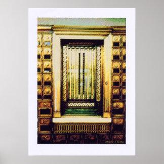 'Architectural Detail 4d' Poster
