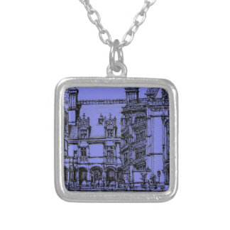 Architectural detail custom necklace