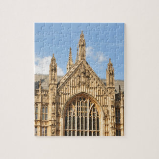 Architectural detail of Gothic window Jigsaw Puzzle