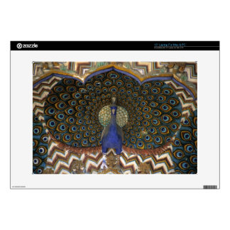 Architectural detail of Peacock Gate Laptop Decal