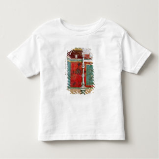 Architectural detail with a landscape toddler t-shirt