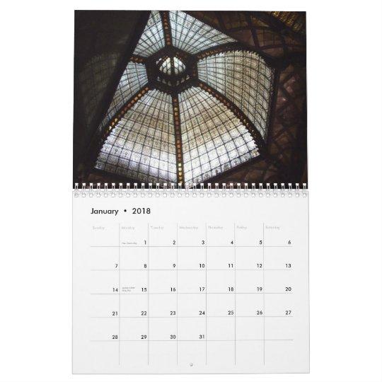 Architectural details - Budapest - 2013 Calendar