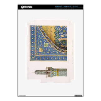 Architectural Details from the Mesdjid-i-Shah, Isf Skin For iPad 3
