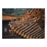 Architectural details in the Forbidden City, Card