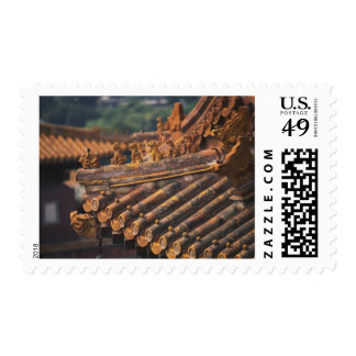 Architectural details in the Forbidden City, Postage Stamp
