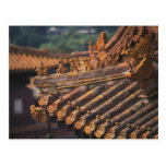 Architectural details in the Forbidden City, Postcard