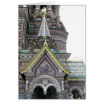 ARCHITECTURAL DETAILS/ORNATE RUSSIAN BUILDING STATIONERY NOTE CARD