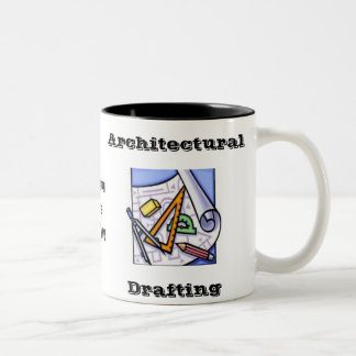 Architectural Drafting Two-Tone Coffee Mug