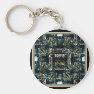 Architectural Drawing Keychain