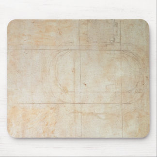 Architectural Drawing Mouse Pad