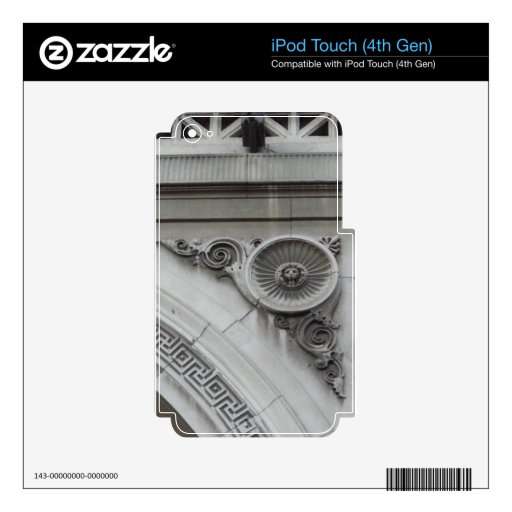 Architectural Elements from Ireland Skins For iPod Touch 4G