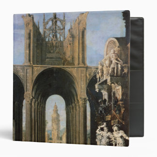 Architectural Fantasy 3 Ring Binders