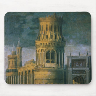Architectural fantasy mouse pad
