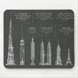 Architectural Heights Mouse Pad