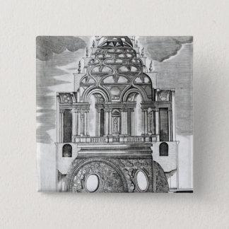 Architectural Illustration Button