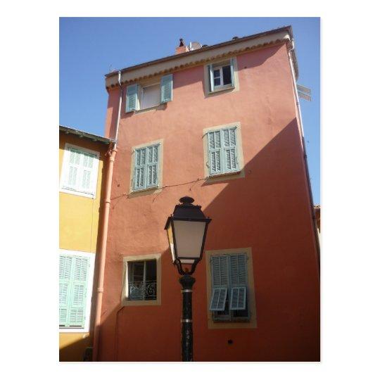 architectural lamp postcard