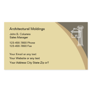 Architectural Moldings Business Cards