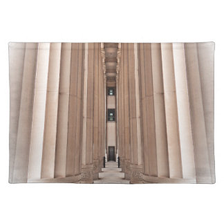 Architectural Pathway of Pillars Placemat
