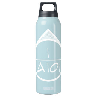 Architectural Reference Symbol (ligh) Insulated Water Bottle