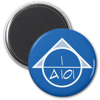 Architectural Reference Symbol Magnet (light)