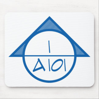 Architectural Reference Symbol Mousepad (blue)