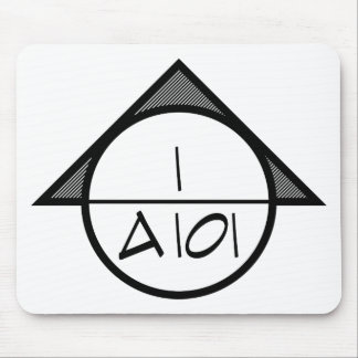Architectural Reference Symbol Mousepad (dark)