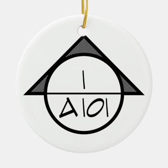 Architectural Reference Symbol Ornament (dark)