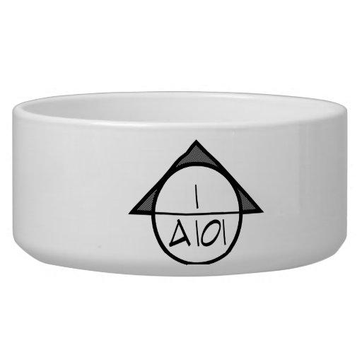 Architectural Reference Symbol Pet Bowl (dark)