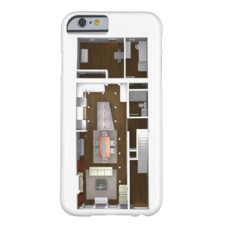 Architectural Rendered Floor Plan Barely There iPhone 6 Case