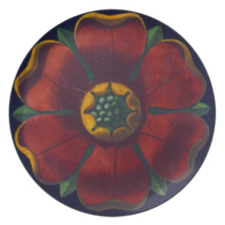 Architectural Rosette No. 1 Dinner Plate