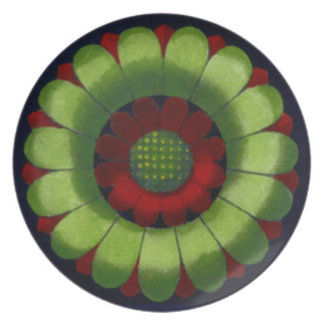 Architectural Rosette No. 2 Dinner Plate