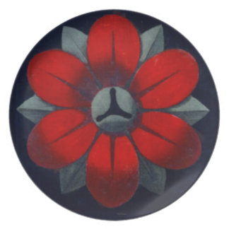 Architectural Rosette No. 3 Party Plate