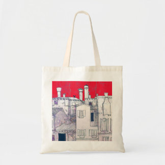 architectural sketch budget tote bag