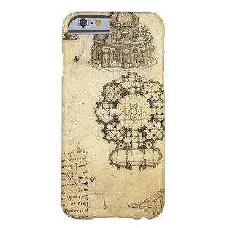 Architectural Sketch by Leonardo da Vinci Barely There iPhone 6 Case