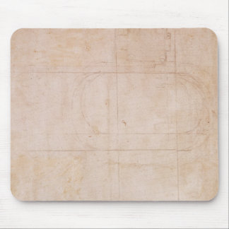 Architectural Sketch Mouse Pad