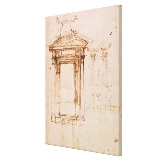 Architectural study gallery wrap canvas