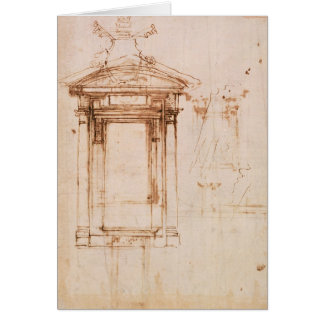 Architectural study card