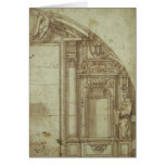 Architectural Study Greeting Card