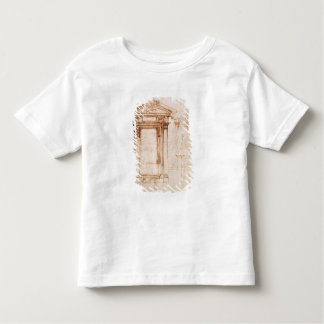 Architectural study toddler t-shirt