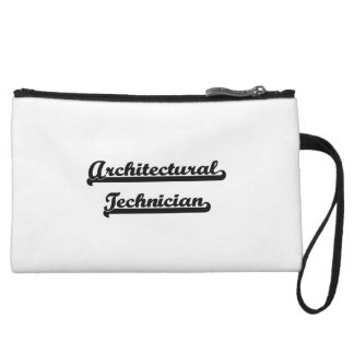 Architectural Technician Artistic Job Design Wristlet Clutches