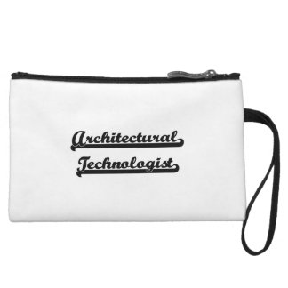 Architectural Technologist Classic Job Design Wristlet Purse