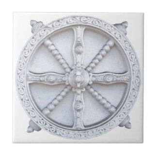 Architectural wheel tile