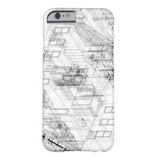 Architectural wire frame iPhone 6 case