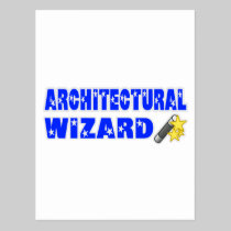 Architectural Wizard Post Cards