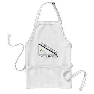 Architecturally Inclined Adult Apron
