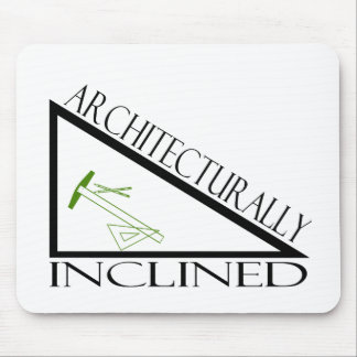 Architecturally Inclined Mouse Pad